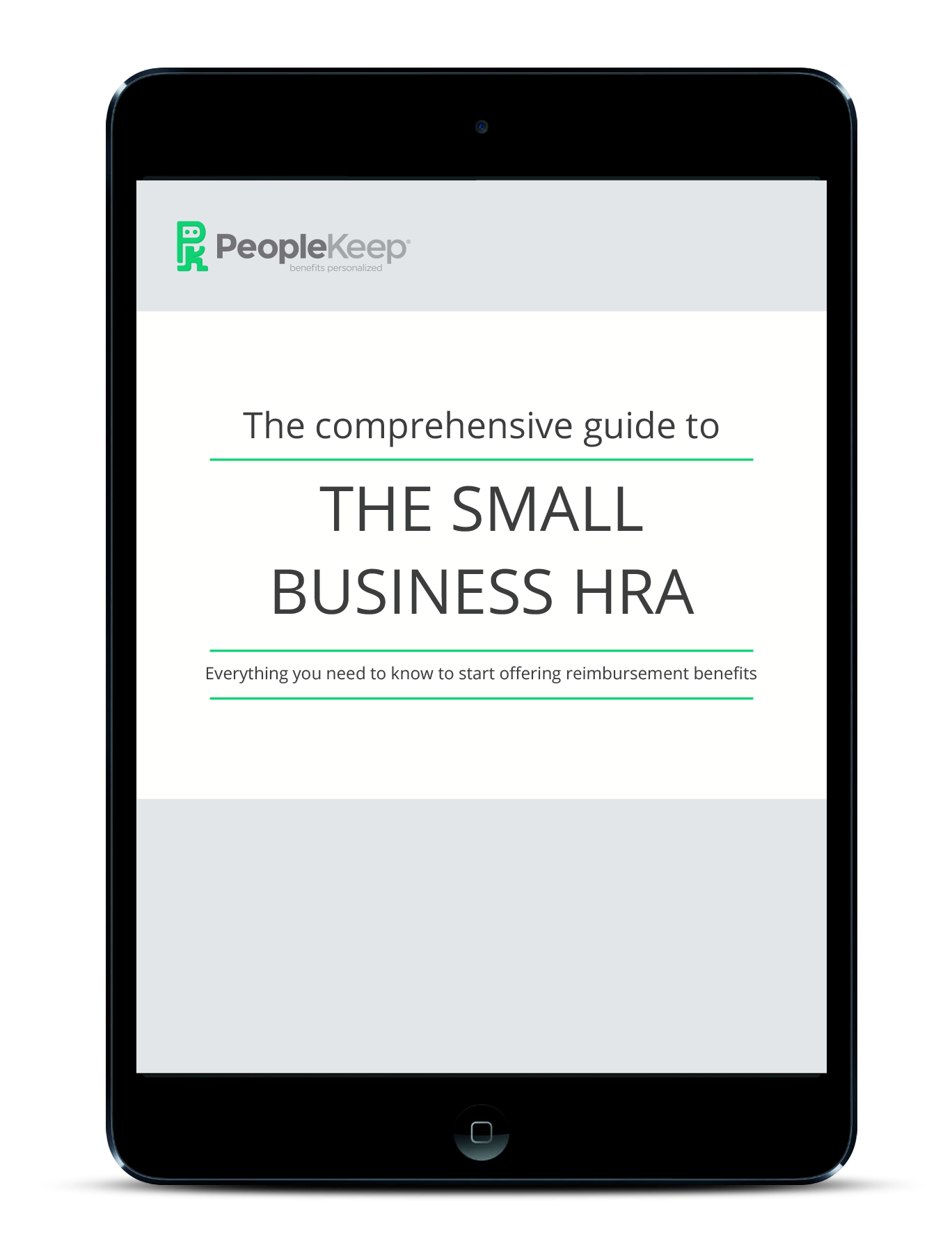 Small Business HRA iPad cover